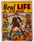 Golden Age (1938-1955):Non-Fiction, Real Life Comics #3 (Nedor Publications, 1942) Condition:Incomplete....