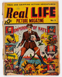 Real Life Comics #3 (Nedor Publications, 1942) Condition: Incomplete