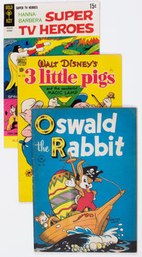 Golden to Silver Age Funny Animal/Disney Related Group of 35 (Various Publishers, 1940s-60s) Condition: Average FN.... (...