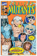 Modern Age (1980-Present):Superhero, The New Mutants #87 (Marvel, 1990) Condition: VF/NM....