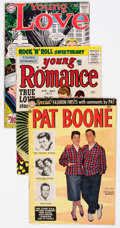 Golden Age (1938-1955):Romance, Comic Books - Assorted Golden Age Romance Comics Group of 9(Various Publishers, 1950s) Condition: Average FN.... (Total: 9Comic Books)