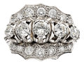 Estate Jewelry:Rings, Diamond, Platinum Ring, circa 1950. ...