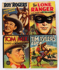 Big Little Book:Miscellaneous, Big Little Book Golden Age Western Related Comics Group of 10(Whitman, 1940s) Condition: Average FN.... (Total: 10 Comic Books)