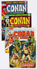 Bronze Age (1970-1979):Adventure, Conan the Barbarian Box Lot (Marvel, 1971-99) Condition: Average VF....