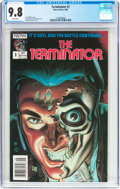 Modern Age (1980-Present):Science Fiction, The Terminator #1 (Now Comics, 1988) CGC NM/MT 9.8 White pages....