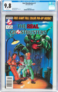 Modern Age (1980-Present):Humor, The Real Ghostbusters #1 (Now Comics, 1988) CGC NM/MT 9.8 Whitepages....