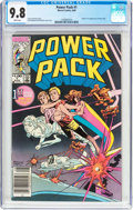 Modern Age (1980-Present):Superhero, Power Pack #1 (Marvel, 1984) CGC NM/MT 9.8 White pages....