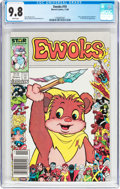 Modern Age (1980-Present):Science Fiction, Ewoks #10 (Marvel, 1986) CGC NM/MT 9.8 White pages....