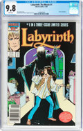 Modern Age (1980-Present):Horror, Labyrinth #1 (Marvel, 1986) CGC NM/MT 9.8 White pages....