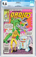 Modern Age (1980-Present):Science Fiction, Droids #1 (Marvel, 1986) CGC NM+ 9.6 White pages....