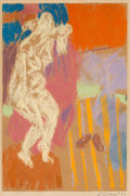Post-War & Contemporary:Contemporary, George Segal (1924-2000). Untitled, 1957. Pastel on paperlaid on paper. 24 x 18 inches (61 x 45.7 cm) (sheet). Signed a...