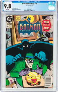 Batman Adventures #10 (DC, 1993) CGC NM/MT 9.8 White pages