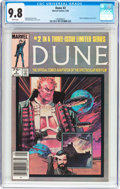 Modern Age (1980-Present):Science Fiction, Dune #2 (Marvel, 1985) CGC NM/MT 9.8 White pages....