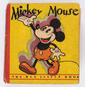 Big Little Book:Cartoon Character, Big Little Book #717 Mickey Mouse Second Edition (Whitman, 1933) Condition: VG+....