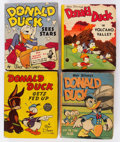 Big Little Book:Miscellaneous, Big Little Book Donald Duck Related Group of 7 (Whitman, 1939-49)Condition: Average FN.... (Total: 7 Comic Books)