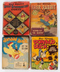 Big Little Book:Miscellaneous, Big Little Book Walt Disney Related Group of 7 (Whitman, 1943-48)Condition: Average VG.... (Total: 7 Comic Books)