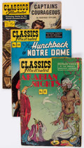 Golden Age (1938-1955):Classics Illustrated, Classics Illustrated Short Box Group (Gilberton, 1940s-60s) Condition: Average GD/VG....
