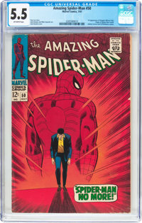 The Amazing Spider-Man #50 (Marvel, 1967) CGC FN- 5.5 Off-white pages