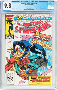 The Amazing Spider-Man #275 (Marvel, 1986) CGC NM/MT 9.8 White pages