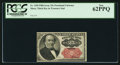 Fractional Currency:Fifth Issue, Fr. 1309 25¢ Fifth Issue PCGS New 62PPQ.. ...