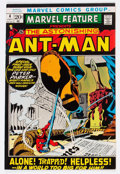 Bronze Age (1970-1979):Adventure, Marvel Feature #4 Ant-Man (Marvel, 1972) Condition: VF/NM....