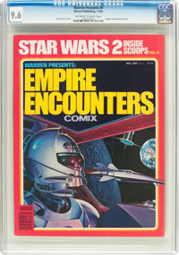Warren Presents #9 Empire Encounters Comix (Warren, 1980) CGC NM+ 9.6 Off-white to white pages