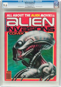 Magazines:Science-Fiction, Warren Presents #3 Alien Invasions Comix (Warren, 1979) CGC NM+ 9.6Off-white to white pages....