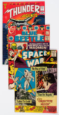 Silver Age (1956-1969):Miscellaneous, Comic Books - Assorted Silver Age Comics Group of 5(Tower/Charlton, 1960s) Condition: Average FN.... (Total: 5 ComicBooks)