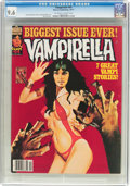 Magazines:Horror, Vampirella #64 (Warren, 1977) CGC NM+ 9.6 Off-white to white pages....