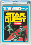 Magazines:Science-Fiction, Star Quest Comix #1 (Warren, 1978) CGC NM+ 9.6 Off-white to whitepages....