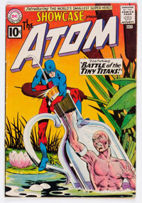 Showcase #34 The Atom (DC, 1961) Condition: VG/FN