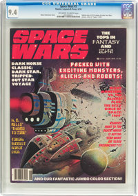 Space Wars #5 (Stories, Layouts & Press, 1978) CGC NM 9.4 Off-white to white pages