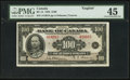 Canadian Currency: , BC-15 $100 1935.. ...