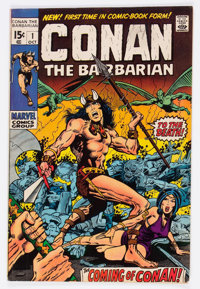 Conan the Barbarian #1 (Marvel, 1970) Condition: Average FN