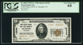 National Bank Notes:Tennessee, Memphis, TN - $20 1929 Ty. 2 Union Planters NB & TC Ch. #13349. ...