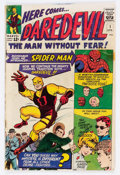 Silver Age (1956-1969):Superhero, Daredevil #1 (Marvel, 1964) Condition: GD+....