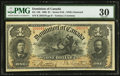 Canadian Currency: , DC-13b $1 1898.. ...