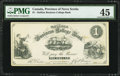 Canadian Currency: , Halifax, NS- Halifax Business College Bank $1 ND. ...