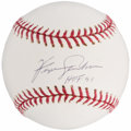 Autographs:Baseballs, Fergie Jenkins Single Signed Baseball - HOF 91 Inscription. ...
