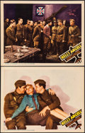 "Movie Posters:War, Hell's Angels (United Artists, R-1937). Lobby Cards (2) (11"" X14""). War.. ... (Total: 2 Items)"