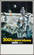 "Movie Posters:Science Fiction, 2001: A Space Odyssey (MGM, 1968). Midget Window Card (9"" X 14.5"").Science Fiction.. ..."
