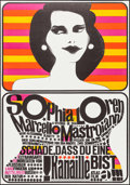 """Movie Posters:Foreign, Too Bad She's Bad (Atlas, R-1961). German A1 (23.25"""" X 33""""). Foreign.. ..."""