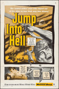 "Movie Posters:War, Jump into Hell & Others Lot (Warner Brothers, 1955). One Sheets(4) (27"" X 41""). War.. ... (Total: 4 Items)"