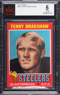 Football Cards:Singles (1970-Now), 1971 Topps Terry Bradshaw #156 BVG EX-MT 6....