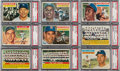 Baseball Cards:Sets, 1956 Topps Baseball Complete Set (340) Plus Checklists (2). ...