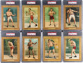 Boxing Cards:General, 1910-11 T9 Turkey Red Boxing Partial Set (10/26). ...