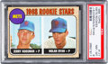 Baseball Cards:Singles (1960-1969), 1968 Topps Nolan Ryan - 1968 Rookie Stars #177 PSA NM-MT 8....
