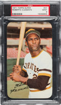 Baseball Cards:Singles (1970-Now), 1971 Topps Super Roberto Clemente #37 PSA Mint 9 - Only One Higher....