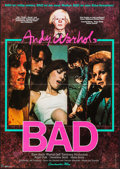 "Movie Posters:Exploitation, Andy Warhol's Bad (Constantin, 1977). German A1 (23.5"" X 33"").Exploitation.. ..."