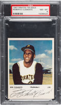 Baseball Cards:Singles (1960-1969), 1967 Pirates Team Issue Clemente PSA NM-MT 8 - Only One Higher....